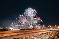 大稻埕煙火 (aelx911) Tags: a7rii a7r2 sony carlzeiss fe1635mm 1635mm landscape taiwan taipei cityscape city firework night lighttrail 台灣 台北 大稻埕 煙火