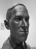 Bust of HPL by Gage Prentiss (clareplater) Tags: hpl hplovecraft