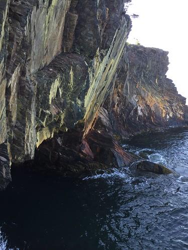 Ovens sea caves