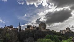 La Alhambra desde la Cuesta de los Chinos (Ignacio M. Jiménez) Tags: alhambra cuestadeloschinos scape cielo sky panorama nubes clouds ignaciomjiménez granada andalucia andalusia españa spain matchpoint winner t568 champion