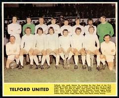 TELFORD UNITED 1970-71 (bullfield) Tags: telfordunited 1971 wellington shropshire england