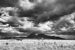 Monsoon Storm (www.arayphoto.com) Tags: desert bw white black sonoita arizona storm clouds monsoon