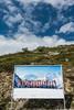 20170804 Switzerland 07229 -1 (R H Kamen) Tags: swissalps switzerland valdebagnes valaiscanton verbier art modernart mountain poster propaganda publicpark rhkamen snow summer valais westernscript