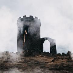Rapunzel (laurawilliams▲) Tags: surreal surrealism laura williams photography castle bradgate park fairytale landscape nature hair plait rapunzel