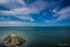 South Stack Lighthouse (JKmedia) Tags: lighthouse anglesey southstack island boultonphotography 2017 northwales irish sea coast coastal rural blue bluesky horizon 15challengeswinner