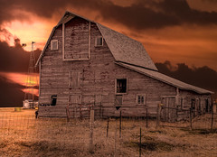 Hidden Glory (henryhintermeister) Tags: barns minnesota oldbarns clouds farming countryliving country sunsets storms sunrises pastures nostalgia skies outdoors seasons field hay silos dairybarns building architecture outdoor winter serene grass landscape plant cloudsstormssunsetssunrises southdakota