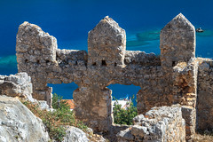 Simena Castle, Kaleköy, Antalya, Turkey (Feng Wei Photography) Tags: ancient traveldestinations eastasia exploration mediterraneansea euroasia turkeymiddleeast mediterraneanturkey lycian simena centralanatolia travel outdoors antalyaprovince wall horizontal lycia fort castle sunny kekova colorimage sea kaleköy turquoisecolored vacation byzantine kalekoy trip tranquilscene scenics turkishculture tourism famousplace turkish antalya turkey tr