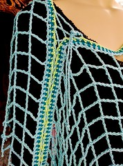 Aquarienne diagonal drape (vashtirama) Tags: lacing laced convertible poncho wrap shawl p2p pointtopoint crochetpattern crochetbeachcoverup beads dvpublished lotus summer tunisian hires filet colorwork filter seamfinishing cornerstart tunisiancrochetlace triangle shaped vest lacytunisiancrochet tallstitch beach mermaidy coverup drape mesh net tunisiancrochet filetcrochet lace lacy designingvashtilotusyarn lacingcrochet patterndownloadablepdfmydesign vashtiyarn dorischanyarn beaded seedbeads fringe twistedfringe beadedfringe triangular sidetoside s2s vneck bateau crochetlinenstitch crochetmossstitch crochetseedstitch crochetponcho beachponcho