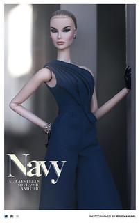 Fashion Royalty . Tweed Couture . Dania Zarr . SuperModel