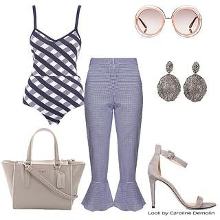 Xadrez Vichy promete ser a estampa do verão - veja os looks! Veja post completo em www.personalstylistbh.com.br  www.carolinedemolin.com.br    #moda #trend #fashion #tendencias #estilo #style #personalstylist #personalstylistbh #consultoriadeimagembh #con