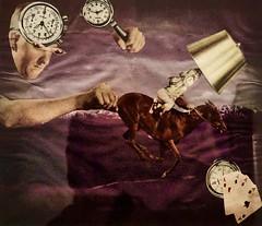 Revolution's Mechanisms (1948) - Mário Henriques Leiria (1923-1980) (pedrosimoes7) Tags: máriohenriquesleiria centrodeartemanueldebrito camb paláciodosanjos algés portugal surrealism surrealist artgalleryandmuseums ✩ecoledesbeauxarts✩