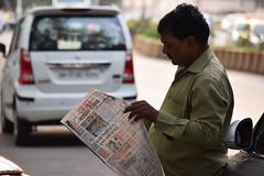 News Break (Debatra) Tags: mumbai bombay maharashtra nikon nikkor d3300 55200mm 55200 newspaper evening portrait