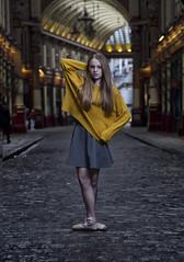 Saskia @ Leadenall Market (Stephen L D'Agostino) Tags: urbanballet ballet danceinthecity model teen