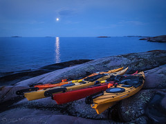 How I Spent My Summer Vacation (SkyeWeasel) Tags: canada georgianbay westfoxisland kayak expedition wilderness moon moonlight