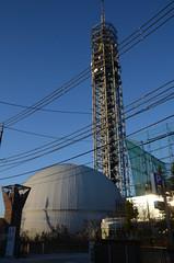 Sky Tower Nishi-tokyo and Planetarium of Tama-rokuto Science Center 2 (ykanazawa1999) Tags: tower planetarium tanashi nishitokyo toko japan