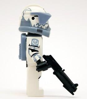 Lego Star Wars – Custom Clone Trooper Wolfpack 104th Battalion – Havoc Armour