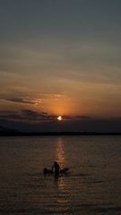 water games (papkostantin) Tags: water sea sunset kamena kamenavourla greece ftiotida sky fun seagames pentax
