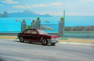 Dinky Toys N.S.U. R0 80 No.176 1969 : Diorama PS2 GT4 Computer Game Backdrop Costa di Amalfi - 7 Of 29