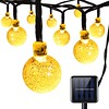 AMIR Solar Powerd String Lights, 30 LED 20ft Globe Lights, 8 Lighting Modes Crystal Ball Starry String Lights, Decoration Lights, for Gardens, Home, Party Collectible Accessories(Warm White) (Xania Media) Tags: flagpolehardware flags floodampsecuritylights floorlamps fountainaccessories fountains garagedoordecorations gardenbridges gardensculpturesampstatues landscapelighting lighting lightingaccessories mailboxcovers porchamppatiolights postlights stringlights tabletoplighting torches umbrellalights