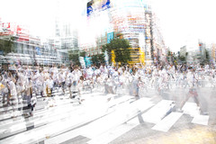 Shibuya crossing, Tokyo Japan (dwph) Tags: shibuya abstract architecture building crossing crosswalk focus ghost landscape location multipleexposure people person shoppingstreet street tokyojapan town