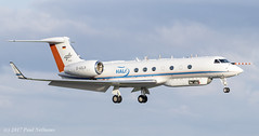 DADLR G550 HALO DLR (Anhedral) Tags: dadlr gulfstreamaerospace g550 gulfstream550 halo dlr research landing wise bizjet shannonairport climate science highaltitude jet aircraft longrange researchaircraft