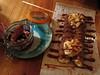 Dessert crepe at Islenski Barinn