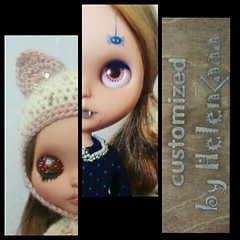 My new customs (blythe dolls)