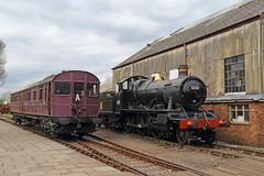 Oldies (Treflyn) Tags: gwr great western steam railmotor no93 1908 churchward mogul 5322 100 years didcot railway centre