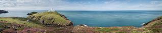 Strumble Head Lighthouse, Pembrokeshire, Wales, UK