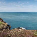 Strumble Head Lighthouse, Pembrokeshire, Wales, UK thumbnail