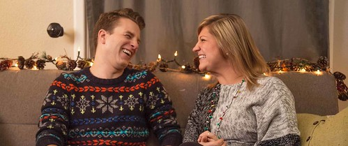 "Eric Allan and Jessica Elwell in ""A Birthday Christmas"""