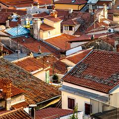 Pïran - Slovénie (Arnaud Regnier) Tags: piran slovenija slovénie toit toiture pentax k50