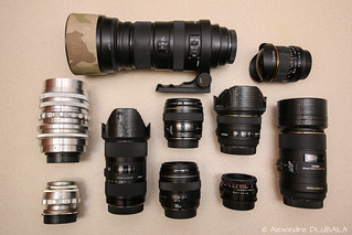 Lenses collection, August update