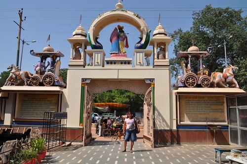 Vrindavan, Uttar Pradesh, India.