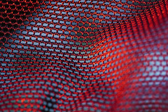 You don't have to wear that dress tonight. (Gudzwi) Tags: insiredbymusic inspiredbysong macro makro macromondays mm red redandblue rot rotundblau abstract abstractmacro cloth clothtextile texture textur textil light licht second bekleidung redlight roteslicht macromondayssecond