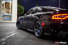 RAYS Volk Racing Te37 - Dodge Charger Scatpack Kenny (RavSpec) Tags: rays volk racing te37 dodge charger scatpack kenny ravspec hemi