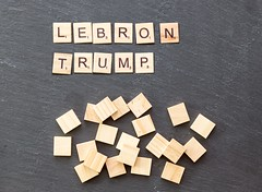 Dan Gilbert Says He Got Racist Calls After LeBron James Criticized Donald Trump (marcoverch) Tags: noperson keineperson business geschäft text paper papier desktop sign schild cube würfel display anzeigen finance finanzen achievement leistung texture textur education bildung symbol conceptual begrifflich abstract abstrakt wood holz shape gestalten alphabet money geld strategy strategie cathedral spring fuji la macromondays analog pumpkin pentax catwa naturaleza