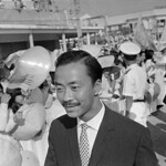 Can Tho 1966 - Nguyen Cao Ky and Crowd thumbnail