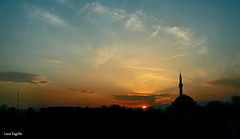 Sunset in Skopje (lucazagolin) Tags: sunset magicmoment skopje fyrom canonpowershots45 compactcamera makedonia balkans
