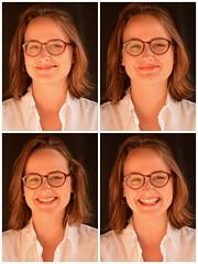 Don't Laugh (Lisonange) Tags: portrait photomaton laugh photobooth vichy