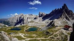 Rif. Locatelli e  laghi dei Piani (apemarco) Tags: ilce6000 samyang12 dolomiti dreizinnen lake paterno