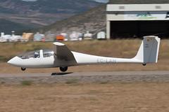 EC-LAH Grob 103 Twin Astir II, Santa Cilia de Jaca, 12/08/17 (hjcurtisuk) Tags: santa cilia de jaca