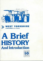 West Yorkshire NBC - A Brief History 1928-1978 (Ray's Photo Collection) Tags: nbc westyorkshire document 1978 scan scanned brochure history 1928 bus buses west yorkshire yorks