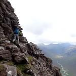 Scrambling beneath Corrag Buidhe thumbnail