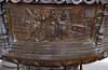 Hildesheim, Niedersachsen, Kirche zum heilgen Kreuz, baptismal font, cuppa, detail (groenling) Tags: hildesheim niedersachsen deutschland germany hi de kirchezumheilgenkreuz kreuzkirche heiligkreuzkirche font taufe taufbecken baptismalfont pelckinck cuppa bronze metal metall stocks