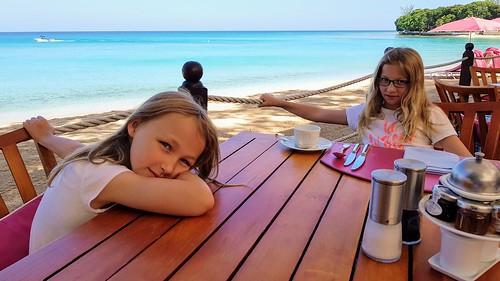 Breakfast in Barbados