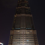 Jin Mao tower at night thumbnail