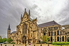 Abbey of Saint Remi in Reims (a7m2) Tags: reims champagne france architektur ardenne church buildings roman gothic