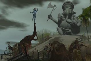 Shiva's dance for the Elephant God [The Salted Ruins]