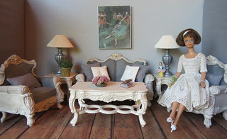 Midge's French Country Living Room